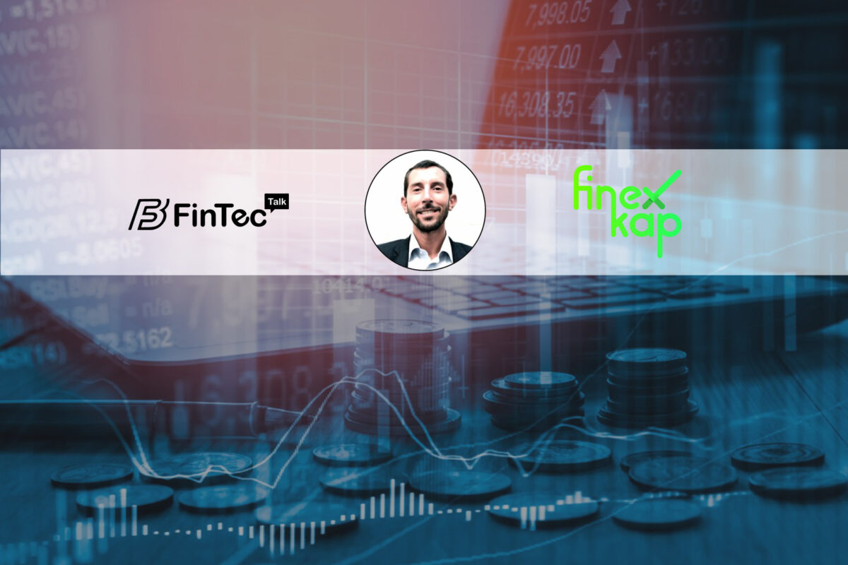 Fintecbuzz Interview with Cedric Teissier, co-founder and CEO at Finexkap